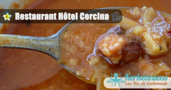 Restaurant de l'hôtel Cercina Soupe