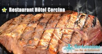 Restaurant de l'hôtel Cercina viande