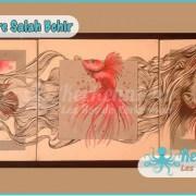 Salah Bchir abstrait contemporain peinture Kerkennah
