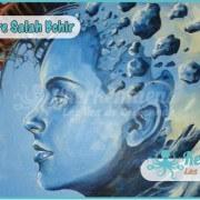 Salah Bchir abstrait futuriste peinture Kerkennah