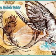 Salah Bchir abstait peinture Kerkennah