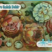 Salah Bchir composition florale peinture Kerkennah