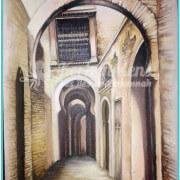 Salah Bchir rue de Sfax Tunisie peinture Kerkennah