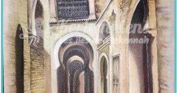 Salah Bchir rue de Sfax Tunisie peinture Kerkennah El maghaza