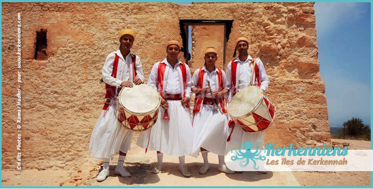 La Troupe El Arkhabil Troupe folklorique de Kerkennah El Maghaza