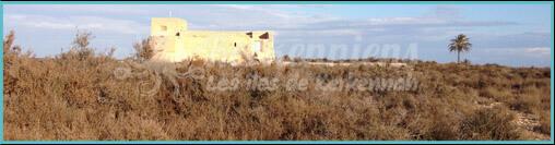 Visite du Fort Lahsar Kerkennah Tunisie