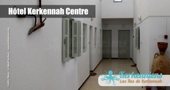 Accès aux chambres Hôtel Kerkennah Centre Tunisie