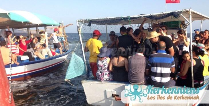 Ambiance barque koffa L'expérience de la koffa quand tu n'es pas kerkennien