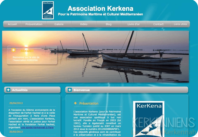 L'ancienne version de l'Association Kerkena