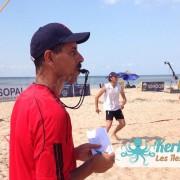 Arbitre Kerkennah terre beach volley Kerkennah Happy Beach Volley Ball