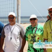 Les arbitres Retour 4ème Tournoi de Beach volley Association Sports et Loisirs de Kerkennah