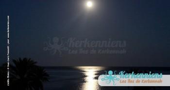 L'archipel des îles de Kerkennah Tunisie