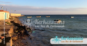 Arrivée à Sidi Youssef (Kerkennah) babour Kerkennah photos