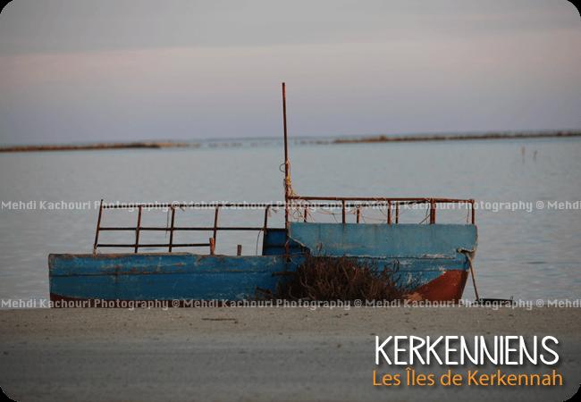Barque ou d'un mirage Charme de Kerkennah Karkna