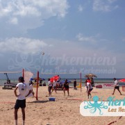 Beach Volley Kerkennah terre beach volley Kerkennah Happy Beach Volley Ball