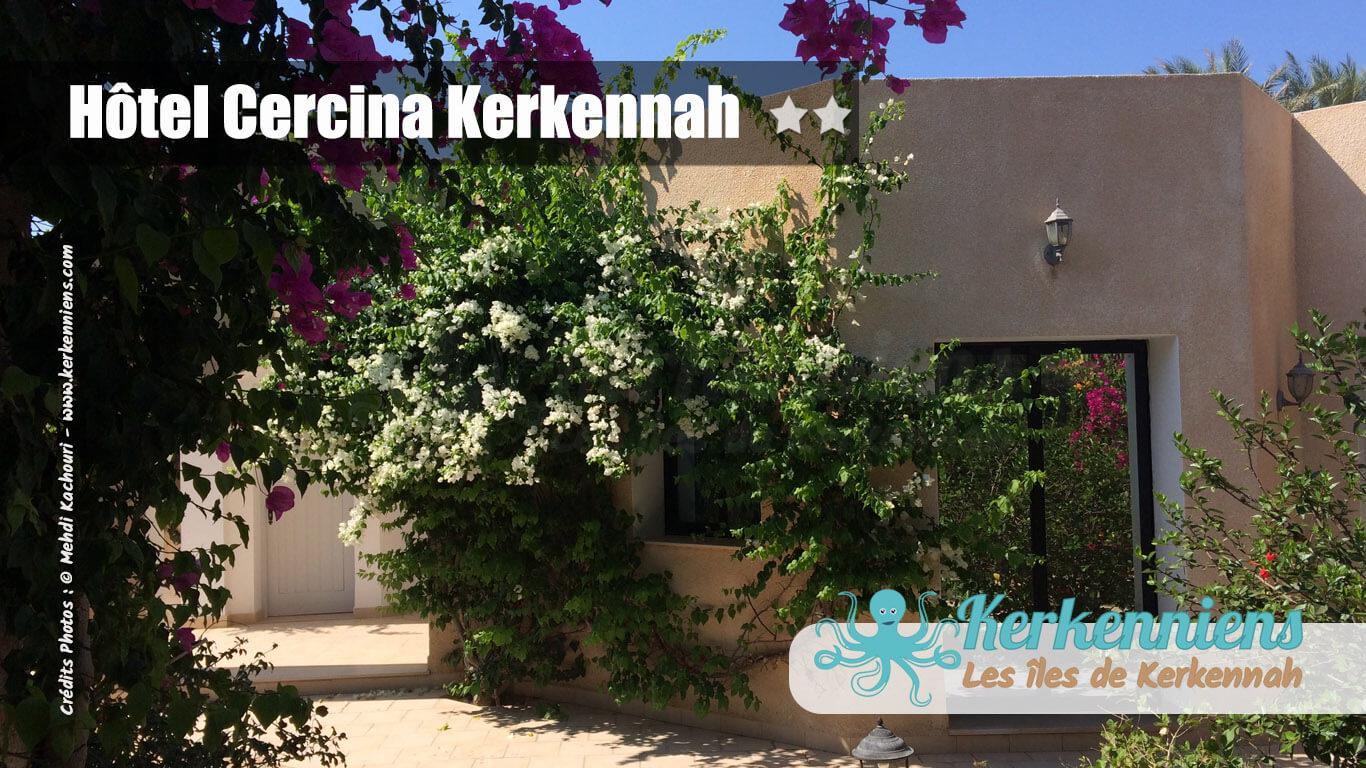 bougainvillier rose et blanc hôtel cercina kerkennah tunisie – page