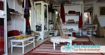 La Boutique Kerkenatiss Tissage broderie Vannerie Atelier Kerkenatiss El Maghaza