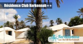 Bungalow hôtel Résidence Club Kerkennah Tunisie