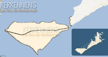 Google Maps fait disparaître île Gharbi îles Kerkennah - img 2