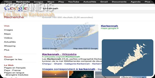Google Maps fait disparaître île Gharbi îles Kerkennah - img 5