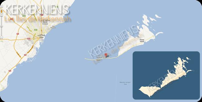 Google Maps fait disparaître île Gharbi îles Kerkennah - img 6