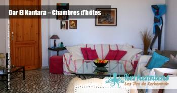 Coin salon Dar El Kantara Chambres d'hotes à Kerkennah Tunisie