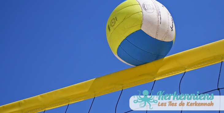 Compétition de Beach Volley à Kerkennah