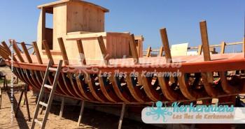 Construction babour El Attaya (Kerkennah)