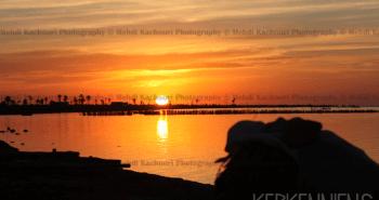 Coucher de soleil Iles de Kerkennah Kerkena Tunisie Photo 6
