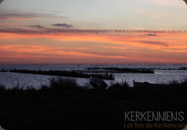 Coucher de soleil Iles de Kerkennah Kerkena Tunisie Photo 9