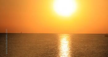 Photos : Coucher de soleil aux iles de Kerkennah