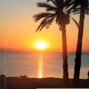 Kerkennah au coucher du soleil