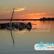 Coucher de soleil & Flouka San'Art Photographie (Sanna Fehri) Photographe Amateur