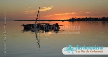 Coucher de soleil & flouka San'Art Photographie (Sanna Fehri) Photographe Amateur El Maghaza