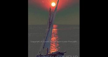 Couchés de soleils inoubliables îles de Kerkennah kerkenniens le blog