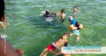 Baignade obligatoire ! L'îlot de Grimdi (Tunisie)