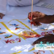 Dessin Atelier de dessin Tournoi de Beach volley Association Sports et Loisirs de Kerkennah