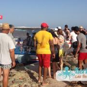 Embarquement dans les barques koffa L'expérience de la koffa quand tu n'es pas kerkennien