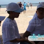Enfants de l'Atelier de dessin Tournoi de Beach volley Association Sports et Loisirs de Kerkennah