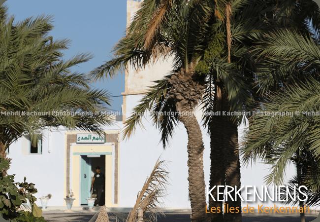 Entrée de la mosquée de Ouled Yaneg Kerkennah Tunisie