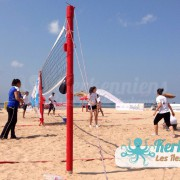Équipe fille Kerkennah terre beach volley Kerkennah Happy Beach Volley Ball
