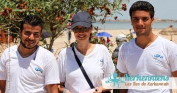 Équipe Tunisie Telecom Tournoi de Beach volley Association Sports et Loisirs de Kerkennah