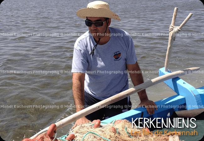 Excursions en mer en felouka flouka Kerkennah