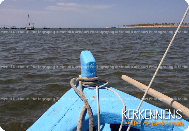 Barque flouka Kerkennienne - Kerkennah