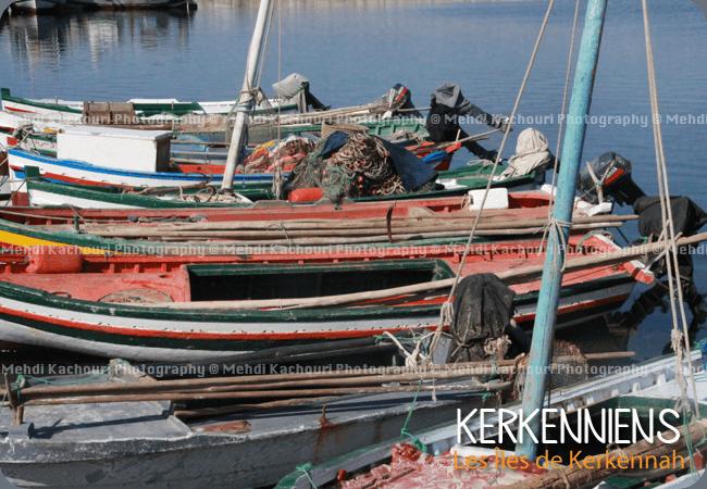 Barques Felouque de Kerkennah flouka Karkana