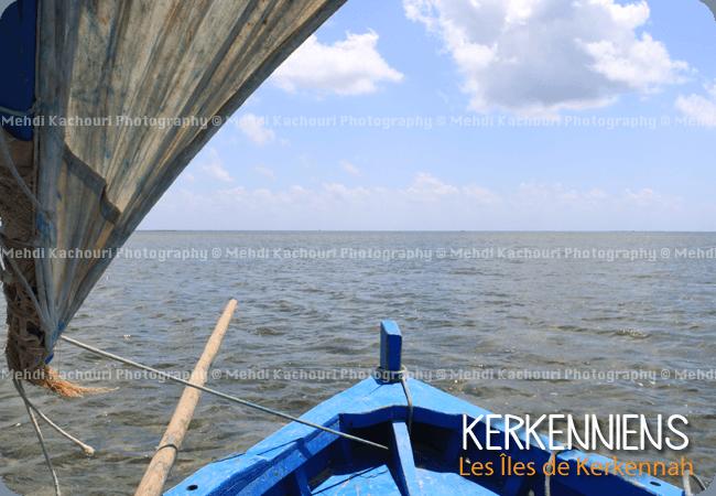 balade en mer dans une flouka à voile à kerkennah