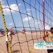 Filet beach volley ball Kerkennah terre beach volley Kerkennah Happy Beach Volley Ball