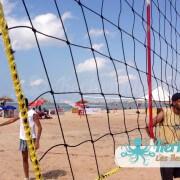 Filet beach volley ball Kerkennah terre beach volley Kerkennah Happy Beach Volley Ball
