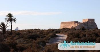 Le Fort Lahsar : une merveille des îles de Kerkennah Tunisie