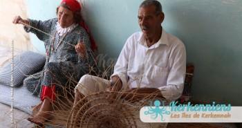Hamadi spécialiste vannerie atelier vannerie El Attaya Artisanat Kerkenniens Atelier Kerkenatiss Kerkennah